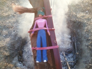 Burning Barbie