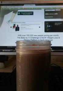 Start Right. Visalus SkinnyCaff-Chocolate.